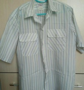 Мужская рубашка летняя б/у