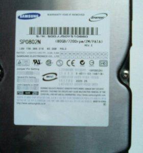 Жесткий диск SP0802N