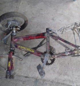 Рама от детского велосипеда
