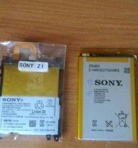 Батареи для sony