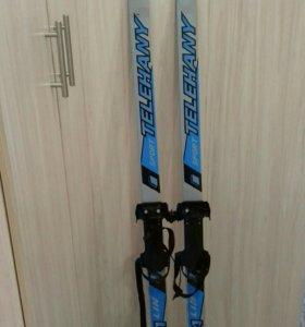 Лыжи детские без палок