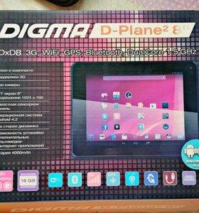 "DIGMA D-Plane² 8"""