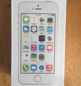 iPhone 5s 16гб новые с Touch ID