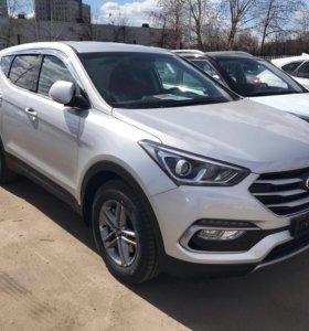 Hyundai Santa Fe, 2015, 2.4 at
