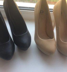 Туфли на каблуке 15 см
