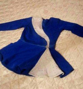 Платье и коньки для фигурного катания