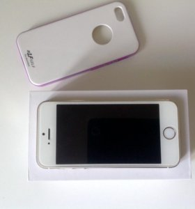 Iphone 5s 32gb Gold + чехлы