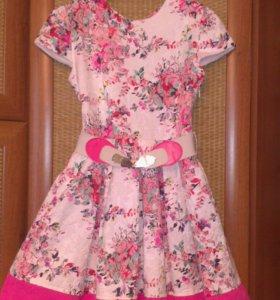 Платье для девочки 9-11 лет.