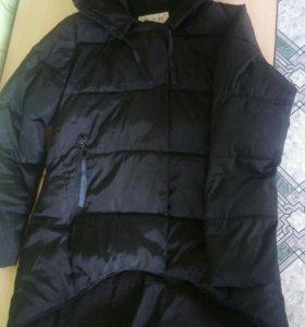 Куртка женская трапеция,удлиненная сзади