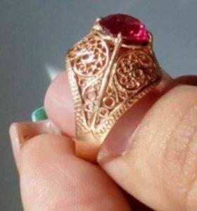 золотое кольцо 583 пробы