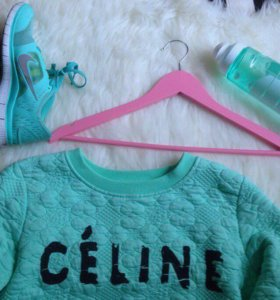 Толстовка / свитшот Celine Paris