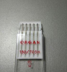 Иглы для швейных машин Organ номер 90