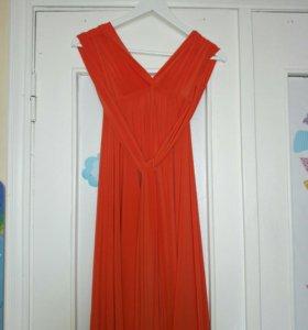 Платье-трансформер.