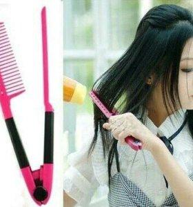 Расчёска для выпрямления волос при сушке феном.