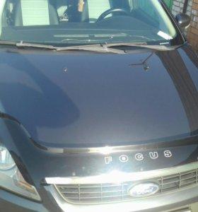 Накладка на капот Форд фокус 2 рестайлинг