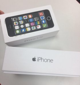 Новый iPhone 5s 16/32 Черный