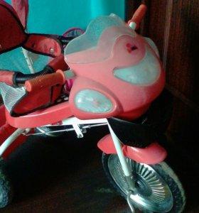 Велосипед для девочки. 2-5лет