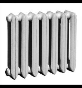 Радиатор отопления батарея чугунные б/у