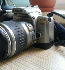 Canon EOS 300X зеркальная пленочная  фотокамера