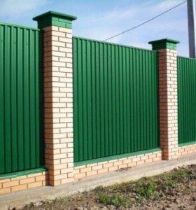 Строим забор любой сложности.