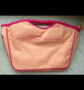 Новая розовая сумочка