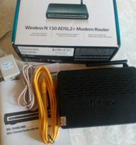 Маршрутизатор со встроенным АDSL- модемом