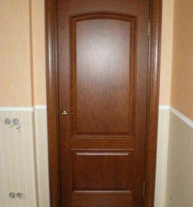 Установка, ремонт межкомнатных дверей.