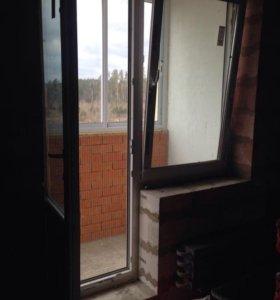 Балконный блок - окно+ дверь