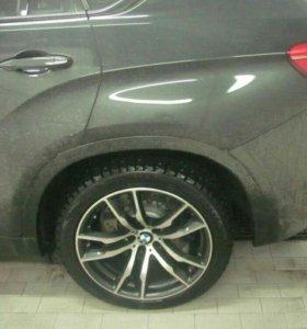 R20 BMW Оригинальные разноширокие диски бмв х5, х6