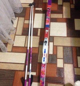 Продам лыжи новые