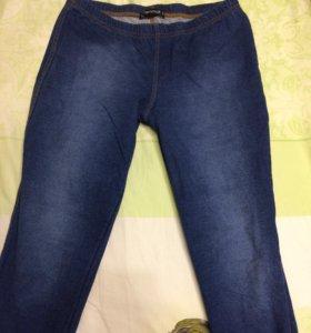 Легинсы джинсовые M