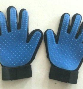 Перчатка-расческа для животных Brush Glove