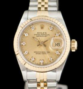 Часы Rolex silver