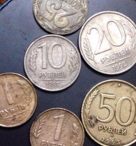 Продам кучу монет старых