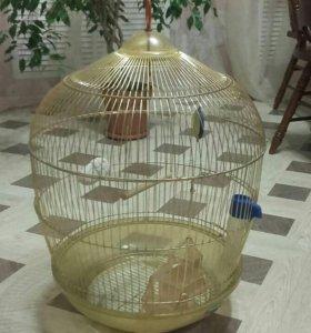Клетка для попугаев (или мелких птиц)
