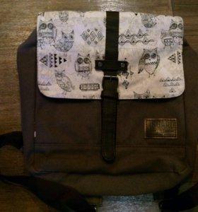 Портфель/рюкзак для подростков с совами