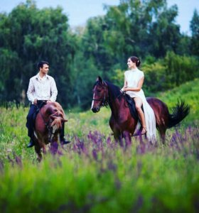 Прогулка на Лошадях для двух человек