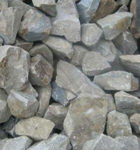 Сыпучие материалы (гравий,горельник,порода,песок)
