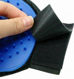 Перчатка-расческа для животных Pet Brush Glove