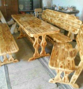 Комплекты мебели из массива