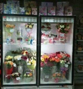 Холодильный шкаф для цветов