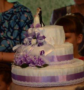 Свадебный Торт для денег