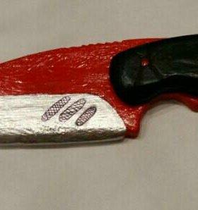 Нож с лезвием крюком из игры CS:GO