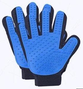 Pet Glove Brush: перчатка для расчёсывания шерсти животных