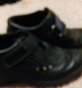 Туфли мужские школьные 31 размер