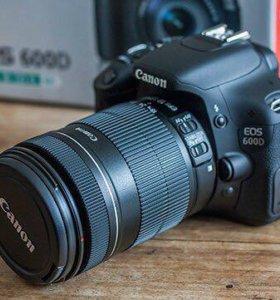 Canon EOS 600D EF-S 18-55 IS II KIT
