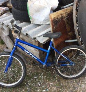 Велосипед 5-6-7 лет маленький