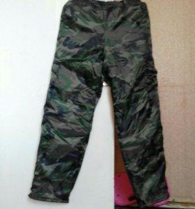 Новые Утепленые брюки.