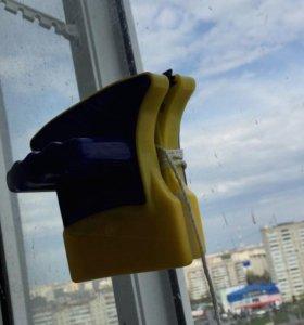 Новая магнитная двухсторонняя щетка для окон