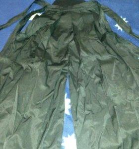 Юбка хакама для занятий айкидо.